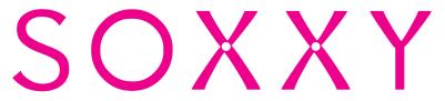 soxxy logo pink spot